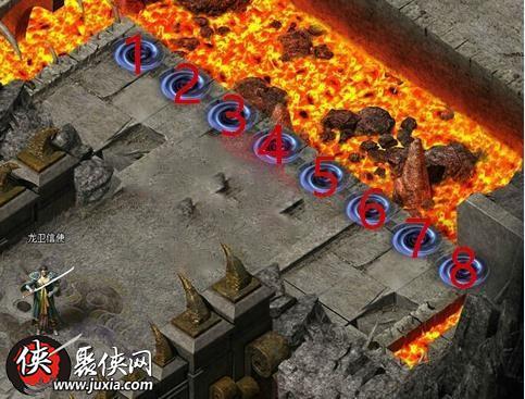 小志龙卫迷宫一层怎么走 小志传奇火龙殿怎么走
